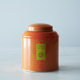 The des Moines in signature metal canister