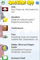 Screenshot of Ameland App DE