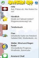 Screenshot of Ameland App DE