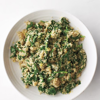 Quinoa-and-Spinach Pilaf
