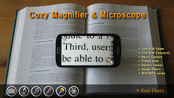 Screenshot of Magnifier & Microscope [Cozy]