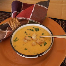 Butternut Squash Bisque (Roasting Method)