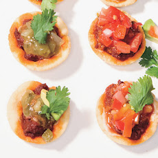 Chalupas with Chorizo