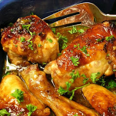 Glazed Orange-Hoisin Chicken