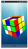 Screenshot of Cube Solver