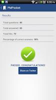 Screenshot of PMPocket PMP® Exam PMBOK® Ref
