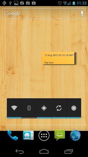 San Notes Live Wallpaper