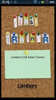 Screenshot of Lambers CIA Flash Trainer