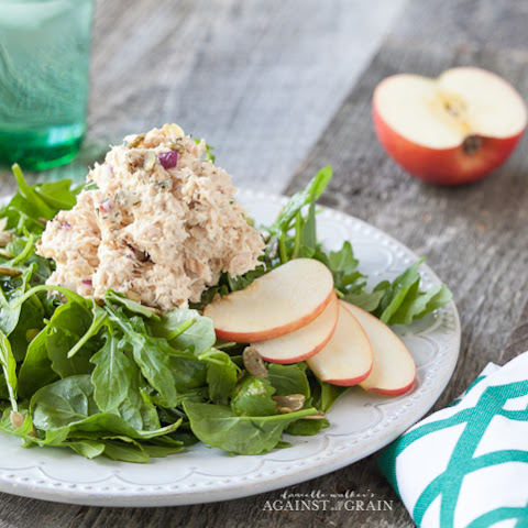 Tuna Salad with Apples and Pumpkin Seeds