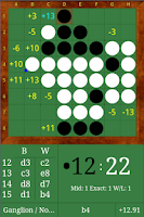 Screenshot of DroidZebra Reversi