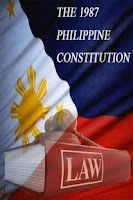 Screenshot of 1987 Philippine Constitution