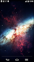 Screenshot of Galaxy Live Wallpaper