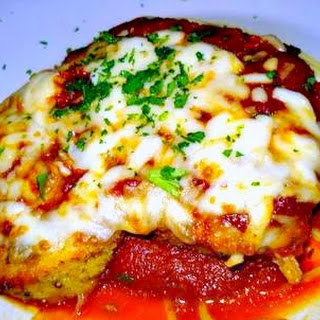 Oven Baked Chicken Parmesan- Mama Melrose's
