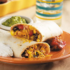 Anne's Chicken Burritos