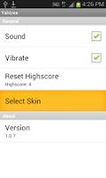 Screenshot of Electronic Yahtzee