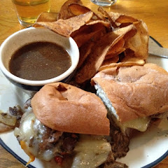 sliced prime rib on GF Udi's hoagie with GF chips. Delicious!