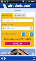 Screenshot of airtickets.com
