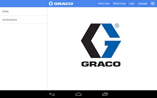 Screenshot of Graco CED