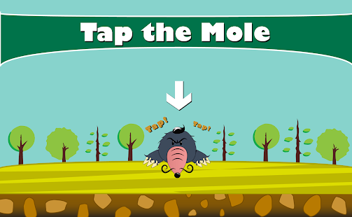 Tap the Mole - screenshot