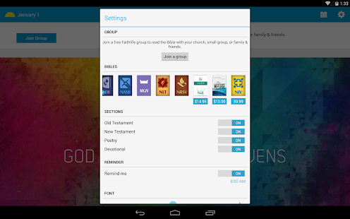 Free every day bible apk for windows 8 download android for 10 40 window prayer points