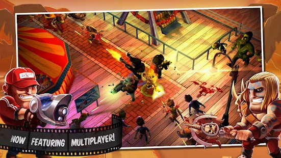 APK Game Zombiewood – Zombies in L.A! for BB, BlackBerry