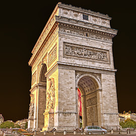 ARC DE TIROMPHE by Sivakumar Inc - Buildings & Architecture Statues & Monuments