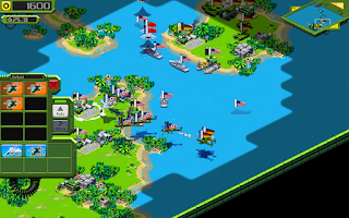 Screenshot of Tropical Stormfront LITE - RTS