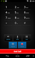 Screenshot of Zoiper IAX SIP VOIP Softphone