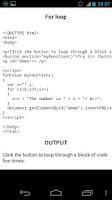 Screenshot of JavaScript Programs / Guide