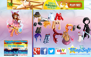 Screenshot of Dressup Magivolve Girl Fun