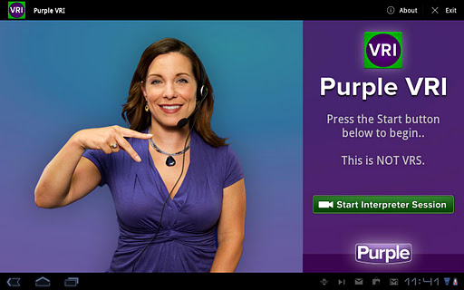 Purple VRI