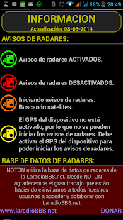 NOTON+ Avisador de radares - screenshot