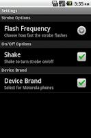 Screenshot of Party Strobe Light