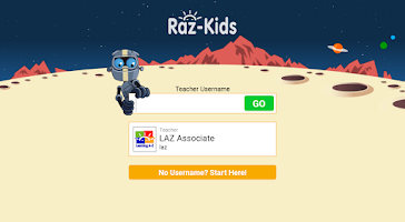 Screenshot of Raz-Kids