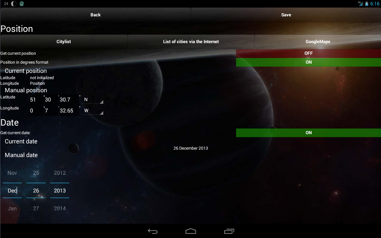 Lunar Calendar Screenshot 9