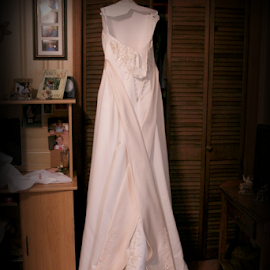 Wedding Dress by Freda Nichols - Artistic Objects Clothing & Accessories ( clothes, wedding, dress, white, traditional, room, artistic, object )