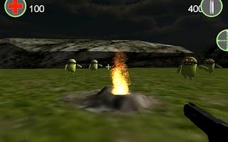 Screenshot of Robot Zombie Shooter