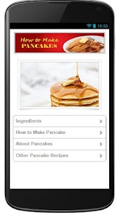 How to Make Pancake Recipes - screenshot