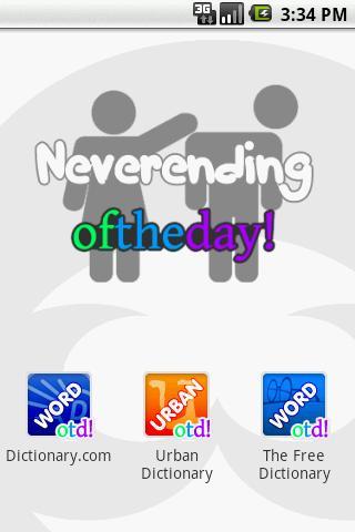 Neverending oftheday