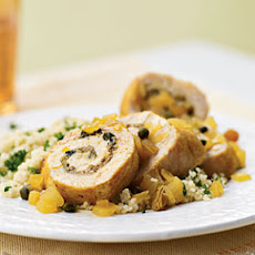 Chicken Roulade with Olives and Simple Preserved Lemons