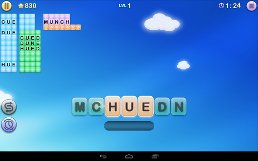 jumbline-2-word-game-puzzle for android screenshot