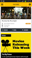 Screenshot of Movies, Music, Comedy - inTown