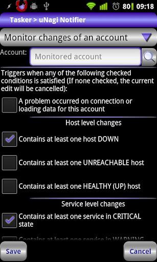 Locale uNagi Notifier Plug-in