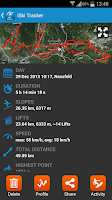 Screenshot of iSki Tracker
