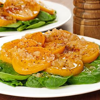 Warm Shallot Vinaigrette Salad Recipes