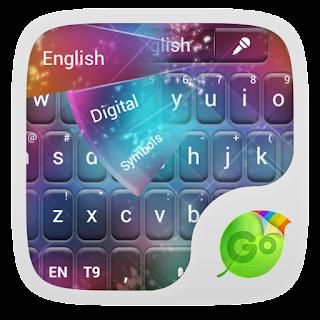 GO Keyboard Color Sparks Theme