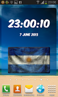 Screenshot of Argentina Digital Clock
