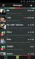 Screenshot of Go SMS Theme Color Minimal