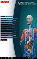 Screenshot of Anatomy Atlas - Animated