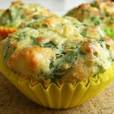 Mmmm Muffins - Cheese, Spinach and Sun-Dried Tomatoes